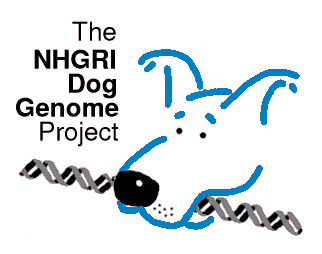 NHGRI Dog Genome Project logo