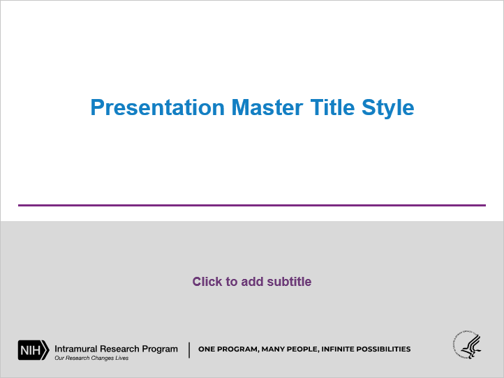 Irp Powerpoint Templates Nih Intramural Research Program