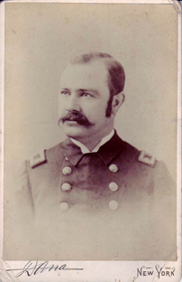 old photograph of Joseph Kinyoun in a military uniform