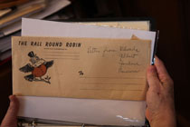 envelope that contains a round robin letter