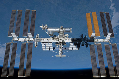 international space station exterior