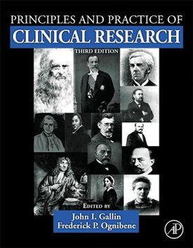 cover of Principles and Practices of Clinical Research textbook