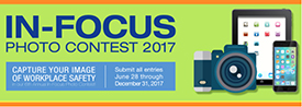 Logo for the In Focus photo contest.