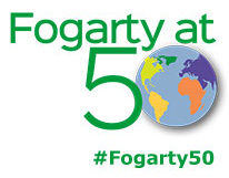 NIH Fogarty International Center 50th anniversary symposium logo