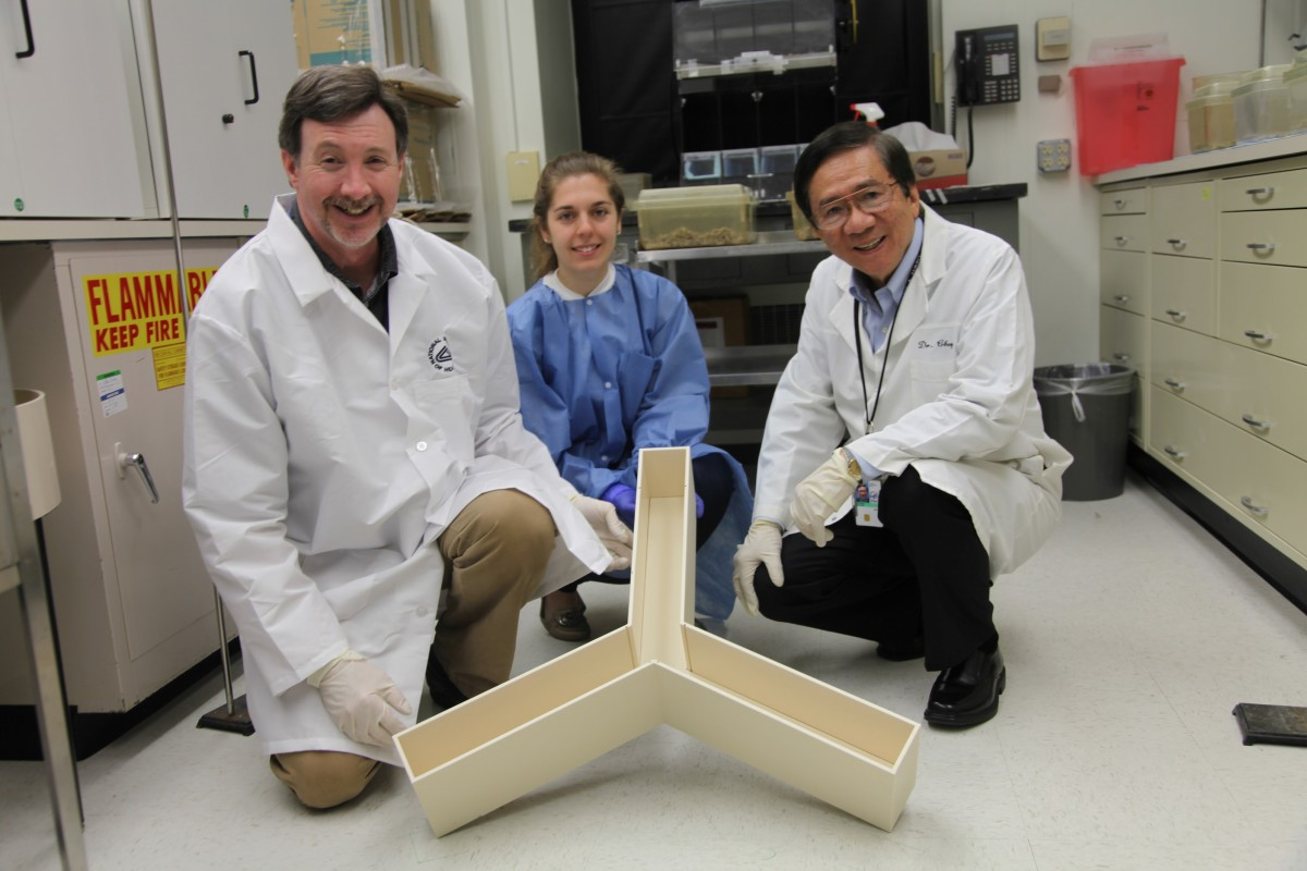 Drs. Peter Leeds, Lisa Scheuing, and De-Maw Chuang
