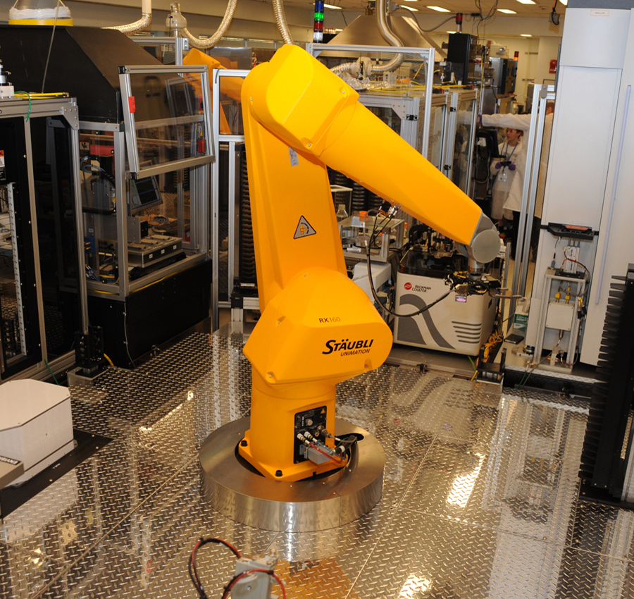 robot used for high-throughput, automated drug screening