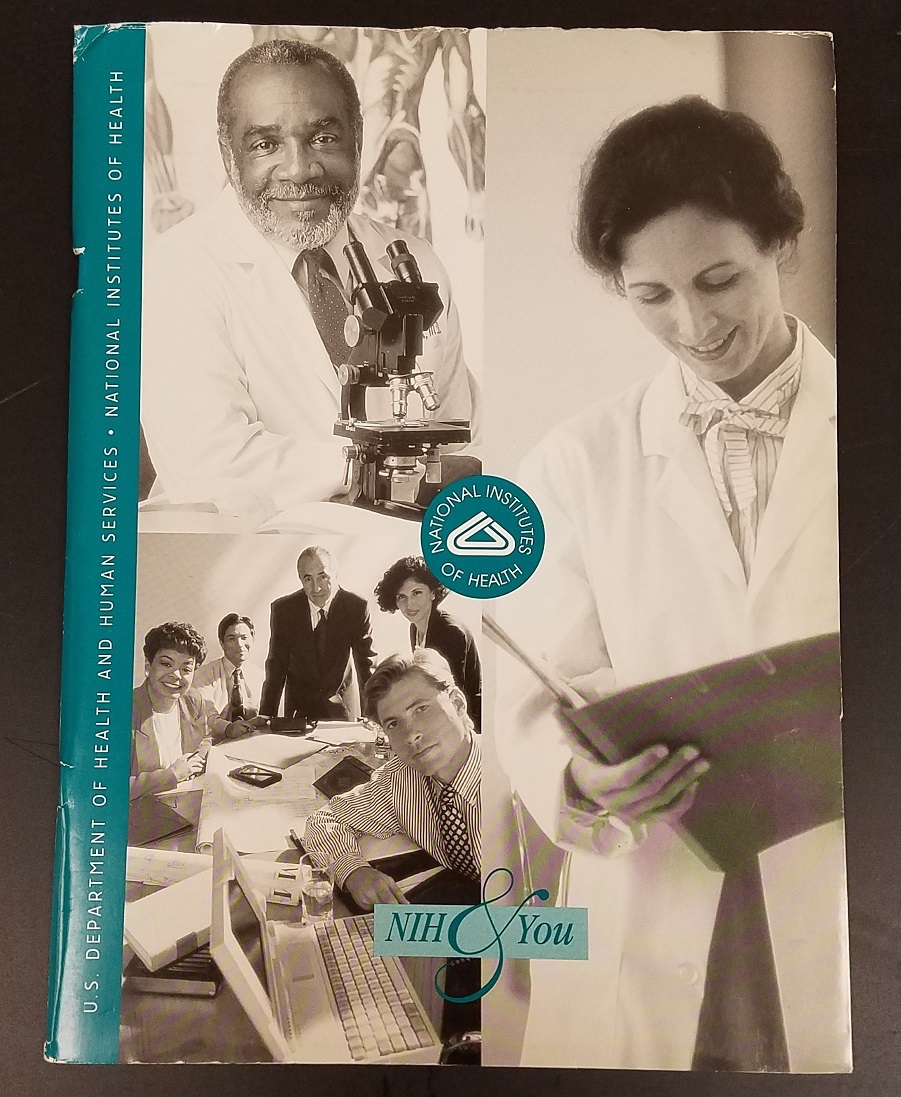 """NIH & You"" booklet for new employees from 2000"