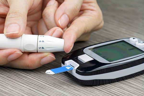 home blood sugar testing device
